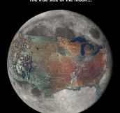 The Moon's True Size