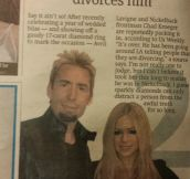 Every Now And Then, The Metro Newspaper Strikes Gold