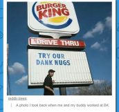 What Are You Up To Burger King?