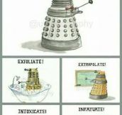 Daleks' Rich Language