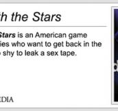 Dancing With The Stars Definition