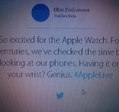 Excited For The Apple Watch