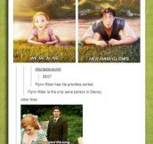 Flynn Rider And His Priorities