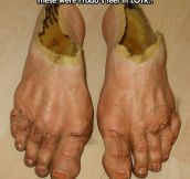 Frodo's Feet Look Very Realistic