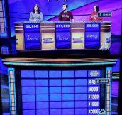 The Whitest Jeopardy You'll Ever See