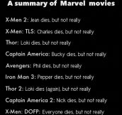 Marvel Movies Logic