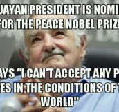 Mujica Has My Respect