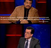 Neil deGrasse Tyson On Free Speech Versus Facts