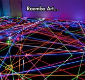 Roomba Swarm In The Dark