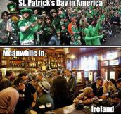 Being Irish In America Vs. Being Irish