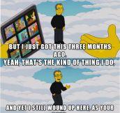 The Simpsons Vs. Apple