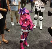Little Girl Has An Amazing Stormtrooper Cosplay