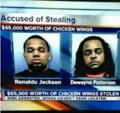 Theft Level: Chicken Wings