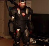 War Machine Suit Made In A 3D Printer