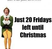 The Christmas Countdown Has Begun