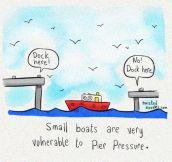 Stop Small Boat Bullying