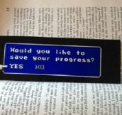 Final Fantasy Inspired Bookmark