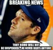 Good Guy Tony Romo