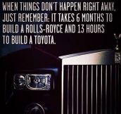 When Things Don't Happen Right Away