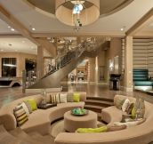 Beautiful Conversation Pit