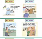 Differences Between Work And Home