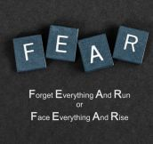 The Meaning Of Fear Is Not The Same For Everyone