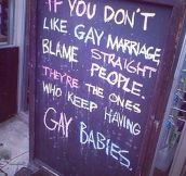 Blame Straight Couples