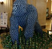 Gorilla Tuna Can Statue