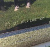 It's Written In Stone