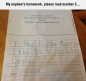 Seems Like A Humble Kid