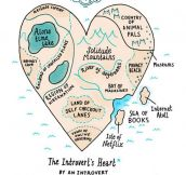 Map Of An Introvert's Heart