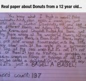 This Kid Won't Be Fooled By Your Fake Donuts