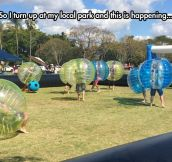 Bubble Soccer Is The Best