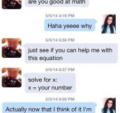 When Pick Up Lines Fail