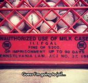 Milk Case Criminal