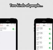We All Know There Are Two Kinds Of People On This World