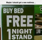I'm Going To Buy A Couple Mattresses Today