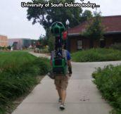 The Google Street View Man