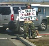 22 Hilarious & Clever Homeless Signs…