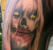 20 Super Creepy Tattoos That Will Give You Nightmares!!!
