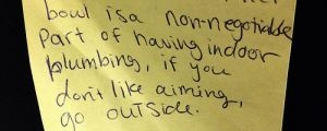 A Collection Of Funny & Aggressive Notes Left By Roommates!!