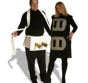 25 Cheesy Couples Halloween Costumes…