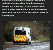 Boys Steal Speed Van License Plate. This Is Evil But Genius.