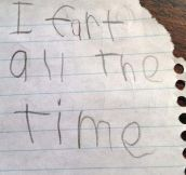 20 Hilarious But Brutally Honest Kids Notes…