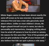 I Knew Mr Rogers Was Awesome, But This Is Just Special.