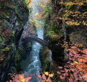 This bridge in Switzerland!