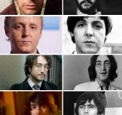 The Beatles And Their Lookalike Sons