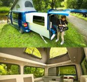 An Amazing Van For Campers