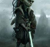 A Young Master Yoda