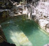 Backyard Quarry Pool